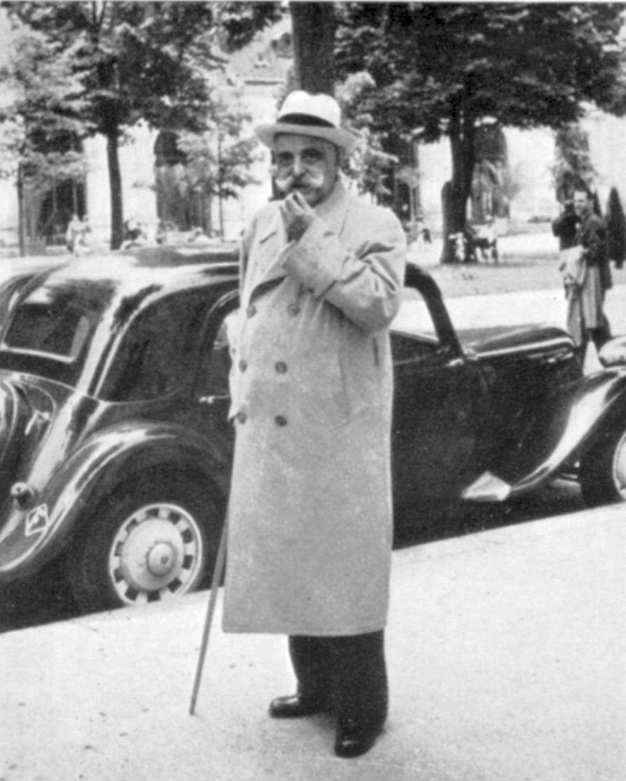 George Gurdjieff in France